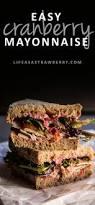 thanksgiving turkey sandwich recipe cranberry mayonnaise life as a strawberry