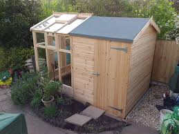 3 6mx2 4m greenhouse u0026 shed combination building