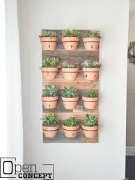 diy wall planter as seen on hgtv u0027s open concept shanty 2 chic