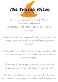 Halloween Poems About Witches Switch Witch Weekend