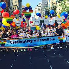 disney espn represent at the nyc pride parade espn front row