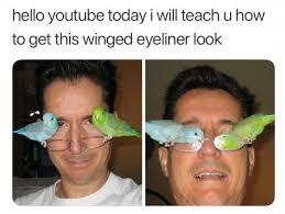 Eyeliner Meme - that s the most perfect winged eyeliner i ve ever seen meme xyz