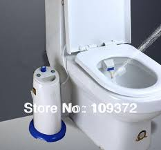 Luxe Bidet Mb110 Fresh Water Spray Toilet With Water Spray Dual Self Cleaning Nozzle Bidet Toilet