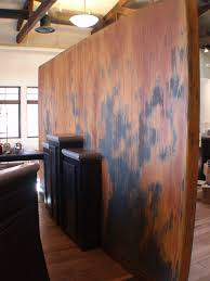 crackled u0026 rusted wall finish created with modern masters metal