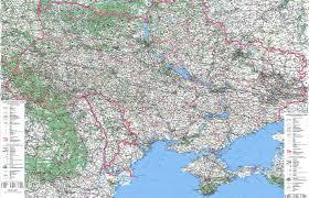 ukraine map map of ukraine ukrainian map detailed map of ukraine