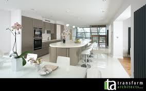 kitchen extension plans ideas 1960 s makeover open plan kitchen transform architects house
