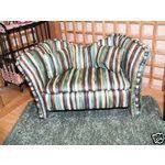 tissue kleenex box cover homemade couch zebra print barbie doll
