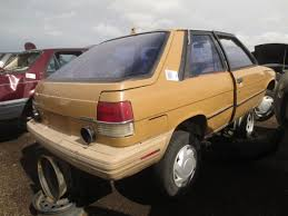 auto junk yard red deer junkyard find 1985 renault encore the truth about cars