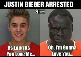Justin Beiber Meme - justin bieber gets arrested for dui and his mugshot is promptly