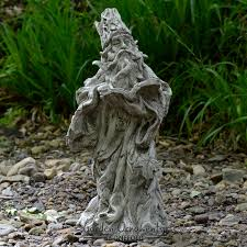 wizard green gnome cast garden ornament statue patio