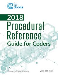 reference guide for coders 2018