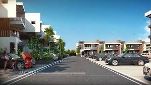 Modern Row House by 3d Smart City Concepts Smart Cities 3d 3d Power