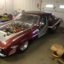 chevy camaro drag car 1969 chevy camaro drag car 540 turn key certifed chassis no