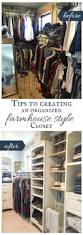 Organized Closet Tips To Create An Organized Farmhouse Style Closet Twelve On Main
