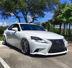 2014 lexus is250 wheels lexus is250 with 19x10 silver polished cv7 s all around customer