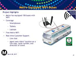 Metro Coverage Map by Pilot Program Begins To Put Wifi On 150 Metro Buses The Source