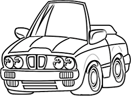 cars coloring pictures