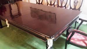 Solid Mahogany Dining Table Solid Mahogany Snooker Dining Table
