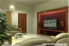 homes interiors and living beautiful living room rendering kerala home design homes