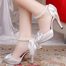 chaussures de mariage femme 6 chaussures de mariage pour femme de qualité et pas chères ma