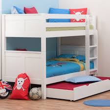 Bunk Bed With Trundle Stompa Classic White Bunk Bed