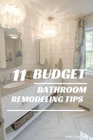 easy bathroom remodel ideas best 25 budget bathroom remodel ideas on budget