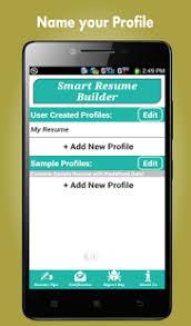 Resume Builder App Resume Builder Pro 5 Minutes Cv Maker U0026 Templates Android Apps