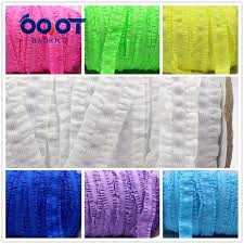 crochet elastic ribbon 1616222 16mm solid crochet flower fold elastic ribbon 10