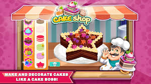Cake Shop Cake Shop Bakery Chef Story Android Apps On Google Play