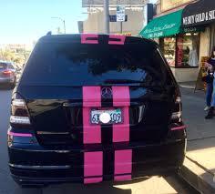 light pink mercedes freak of the week big black u0026 bedazzled motorhead mama