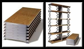 table converts to shelf 10 transformable convertible collapsible urban furnitures urbanist