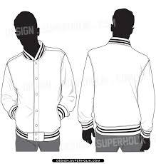 Varsity Jacket Template Psd varsity jacket template vector by superholik on deviantart