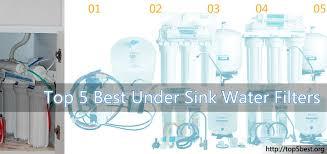 under sink water filter reviews top 5 best under sink water filters reviews top 5 best