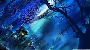 halloween background 1920x1080 spooky house night hallowmas halloween hd desktop wallpaper