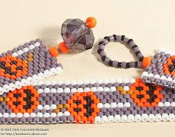 beading bracelet clasp images Easy bead and loop clasp for a peyote stitch bracelet jpg