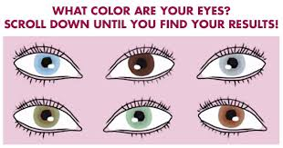 what does your eye color say about who you are as a person