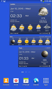 best android weather widget weather clock widget for android ad free android apps on