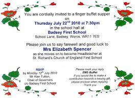 farewell invitation wording invitation for farewell party in wedding invitation sample