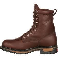 motorbike sneakers men u0027s original ride rocky steel toe waterproof lacer western boot