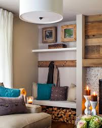 creative wood storage for fireplace decorating ideas contemporary
