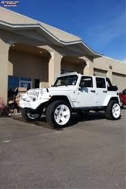 white jeep black rims jeep wrangler xd series xd775 rockstar wheels white