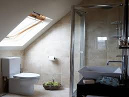 attics with small showers unique home design