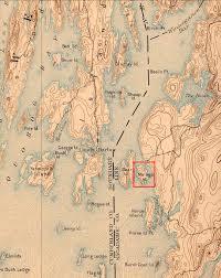 University Of Maine Map Malaga Island Maine An Encyclopedia