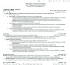 consulting resume u0026 cover letter street of walls