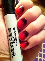 31 best sharpie nail art images on pinterest sharpie nail art