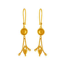 gold earrings gold earrings online gold earrings for women p c chandra