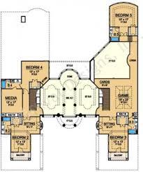 1 Floor House Plan Spettacolare Mediterranean Floor Plan Luxury Floor Plans