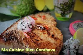cuisine espadon espadon grillé mariné soja tamarin ma cuisine bleu combava
