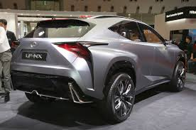 lexus lfa with turbo lexus lf nx turbo concept hits the 2013 tokyo motor show floor