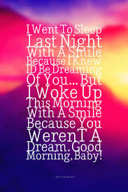 quotes about smiling child i went to sleep last night with a smile because i knew i u0027d be